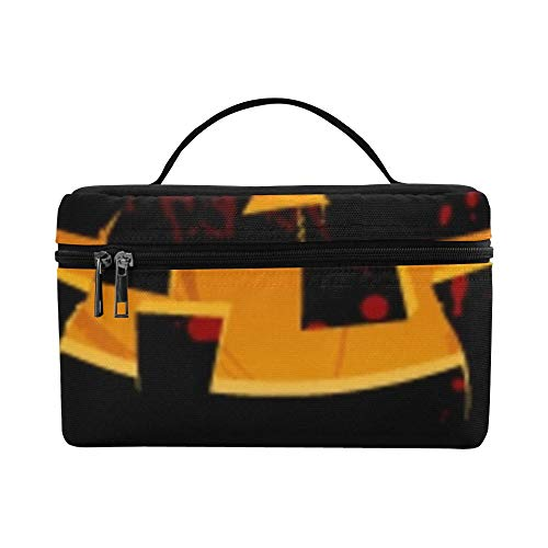 Halloween Party Design Template Pumpkin Place Lunch Box Tote Bag Lunch Holder Insulated Lunch Cooler Bag For Women/men/picnic/boating/beach/fishing/school/work -