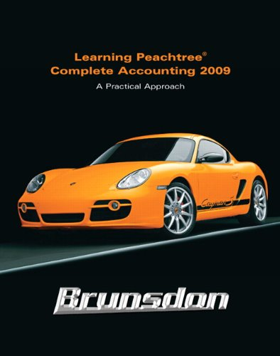 Learning Peachtree Complete Accounting 2009