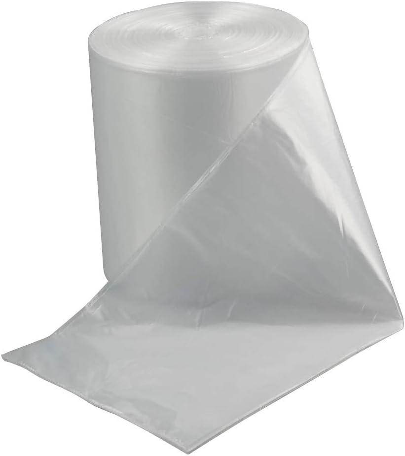 Lesbin 18 Gallon Clear Large Trash Bag, 90 Counts