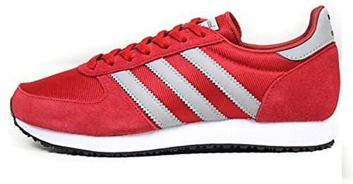 adidas Originals Men's ZX RACER Fashion Sneaker, Red/ Grey/ White, 12D(M) US (Mens Red Sneakers)