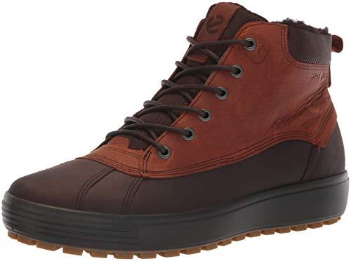 78bb1ad05882 Ecco Men s Soft 7 TRED High Top Hydromax Sneaker Mocha Cognac 43 M EU (