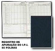 Livro Fiscal - Registro De Apuraçao Do Ipi - Modelo 8-50 Folhas - Sao Domingos 5702.6