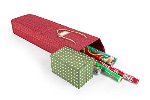 Santas Bags Decorated Wrapping Paper Storage Box - Polka Dot