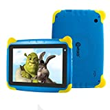 "Contixo K4 HD 7"" Kids Tablet with Durable Protection Case, Pre-Installed Games Bluetooth"