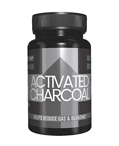 Activated Charcoal Capsules (100 Capsules, 525 mg per Serving) (3 Capsules/Serving) by Pure Organic Ingredients, Odorless & Pharmaceutical Grade Powder Delivered in Fast-Dissolving Capsules for Detox