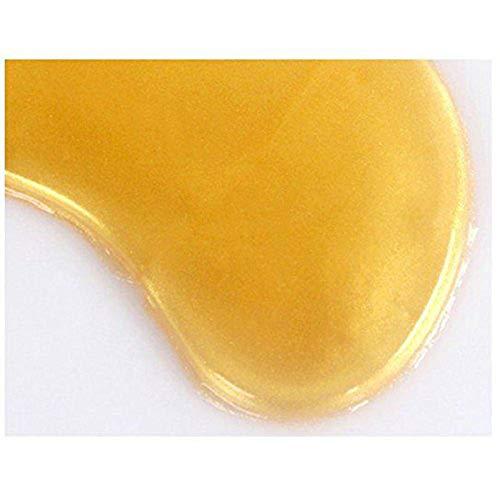 419xTsHOxPL - 30 Pairs Crystal Collagen Under Eye Mask, Gold Collagen Eye Pad For Moisturizing & Reducing Dark Circles, Gold