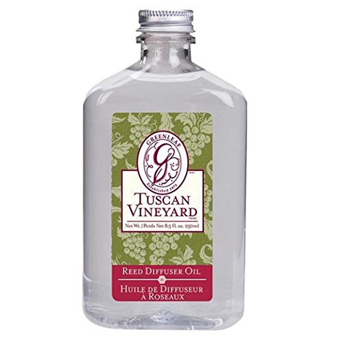 Greenleaf Reed Diffuser Oil 8.5 Oz. Box of 4 - Tuscan Vineyard by Greenleaf