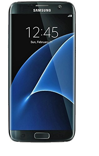 Samsung Galaxy S7 Edge Dual Sim Factory Unlocked Phone 32 GB - Internationally Sourced (Middle East/Africa/Asia) Version G935FD- Black Oynx