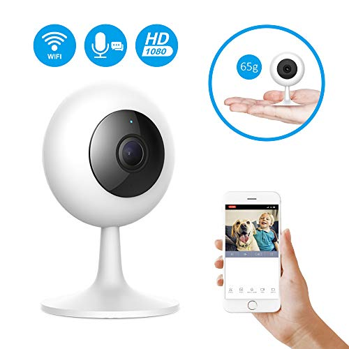 IMI Security Camera Xiaomi Wireless WiFi Baby Camera Monitor HD 1080P Indoor Security Home Surveillance Smart Webcam 2-Way Audio Night Vision Motion Detection with iOS, Android App for Baby Pet Elder