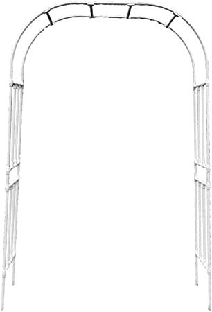 XLOO actualización, Espesar Arco de jardín de Metal, cenador de pérgola de Metal, Envoltura de Resina de Superficie, Varios tamaños, para Varios Arcos de jardín de Bodas de Plantas trepadoras: Amazon.es: Hogar