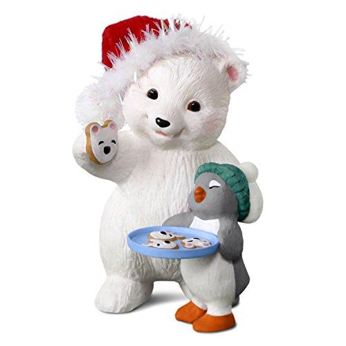 polar bear christmas ornaments - 1