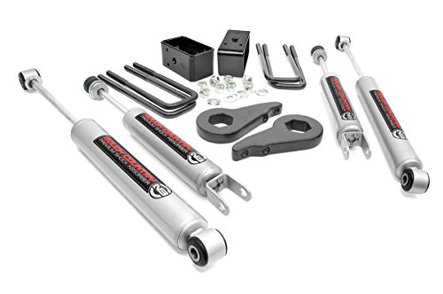 Rough Country - 28330 - 1.5-2-inch Suspension Leveling Lift Kit w/ Premium N3 (Rear Suspension Lift Kit)