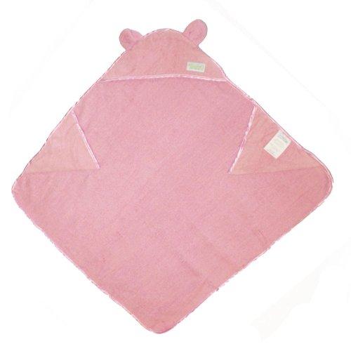 Woombie Organic Cuddle Towels, Pink, 0-3 Years
