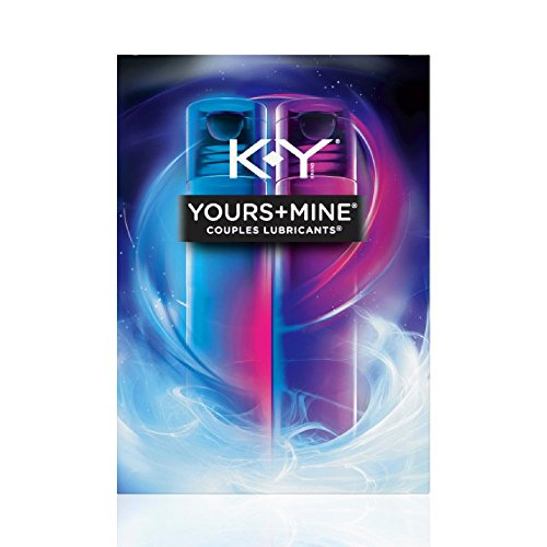 K-Y Yours & Mine Couples Lubricants, 3 oz (Pack of 12)