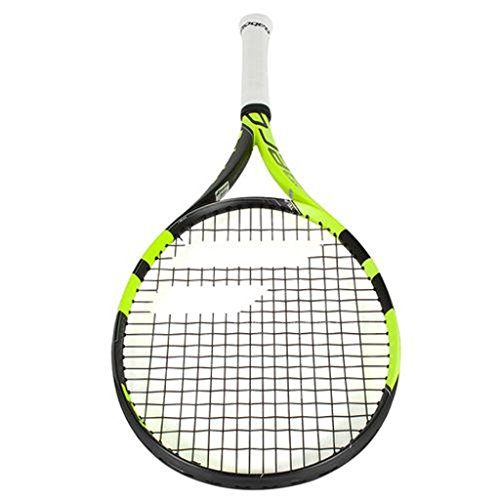 Babolat 2016-2018 Pure Aero Team Tennis Racquet - Quality String (4-1/2)