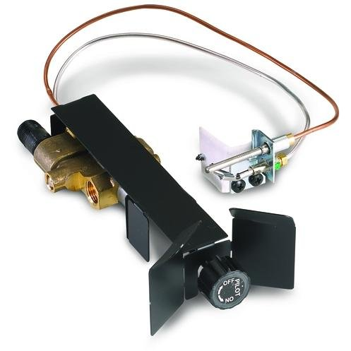 Real Fyre SPK-26 Manual On/Pilot/Off Valve Standing Pilot, Low Profile, Natural Gas ()