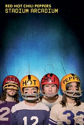 Red Hot Chili Peppers Poster - Stadium Arcadium 24x36 by hse