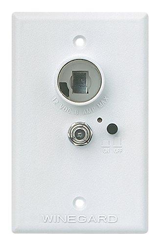 amazon com winegard rv 7042 white wall plate power supply automotive winegard rv 7042 white wall plate power supply