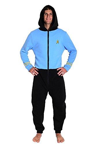 Star Trek The Original Series TOS Blue Spock Loungers (Xxl)