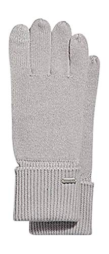 - COACH EMBOSSED SIGNATURE KNIT TOUCH GLOVES MITTEN (ICE GREY)