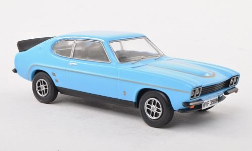 Ford Capri Mk1 RS3100, light blue, RHD, Model Car, Ready-made, Vanguards 1:43