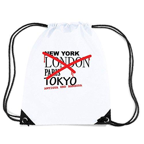 JOllify ANTIGUA UND BARBUDA Turnbeutel Tasche GYM4560 Design: Graffiti Streetart New York