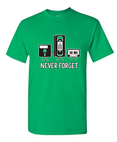 Irish Grandpa T-shirts (Never Forget Funny Retro Father Day Gifts Music Mens Novelty Funny T Shirt L Irish)