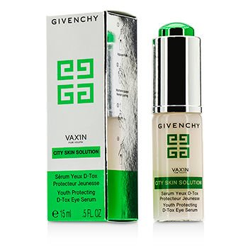 Givenchy Vaxin City Skin Solution Protecting D-Tox Eye Serum for Youth, 0.5 - Eye Givenchy