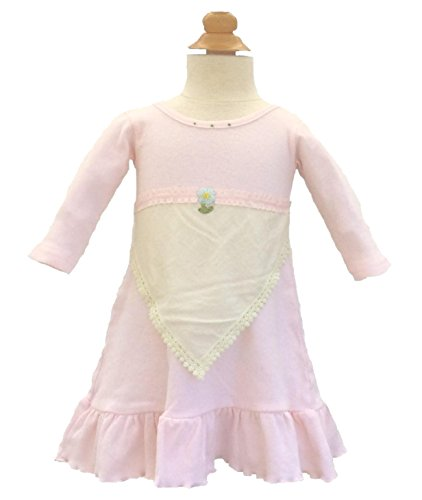 Toni Tierney Baby Girls' Hankie Ruffle Dress 9 Months ()