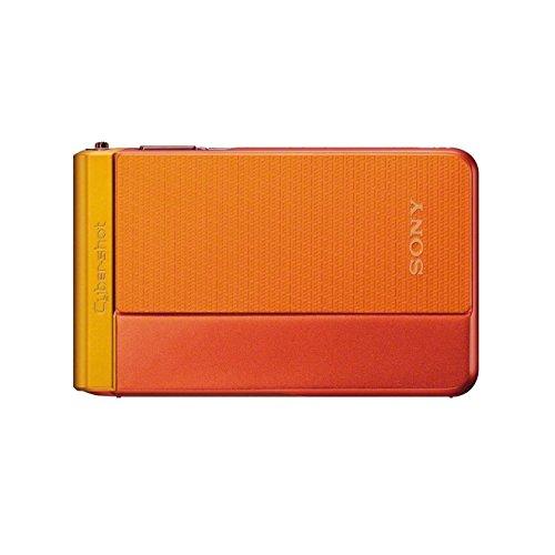Sony DSC-TX30 Digitalkamera (18,2 Megapixel, 5-fach opt. Zoom, 8,3 (3,3 Zoll) Touchscreen, Full-HD, micro HDMI) orange
