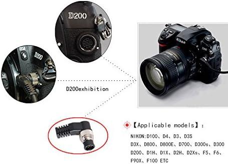 D300S Fujifilm Finepix s5 Pro Digital Cameras D3 D800E Replacement for MC-30 IMZ Wired Remote Shutter Release Cable Cord D800 D700 D3X D3S D4 D810 for Nikon D4s