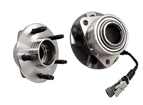 Callahan 513189X2 [2] Pair FRONT Premium Grade [ 5 Lug ] Wheel Hub Bearing Assemblies [ 513189 ] ()