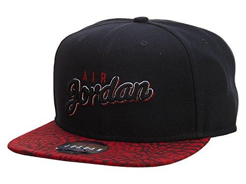 Jordan Seasonal Print Snapback Cap Unisex Style: 724904-010 Size: OS