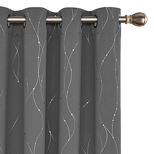 Deconovo Blackout Curtains Grommets