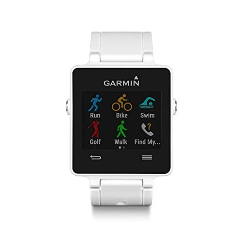 Garmin vívoactive - Smartwatch con GPS, color blanco
