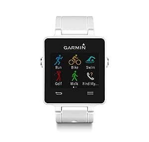 Garmin vívoactive - Smartwatch con GPS, Color Blanco ...