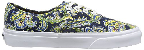 VN0004OPITN VANS dress Sneaker Blues Paisley Authentic Blue Dress Schuhe w7rI7Eq