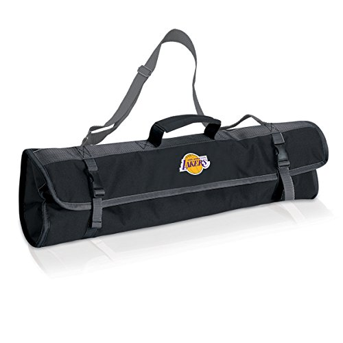Canvas Grill Set (NBA Los Angeles Lakers 3-Piece BBQ Tool Set with Carry Tote)