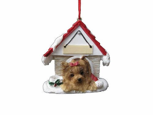 - Yorkie Ornament A Great Gift For Yorkie Owners Hand Painted and Easily Personalized