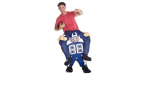 Morph Disfraz Futbolista americano a Caballito para adultos ...