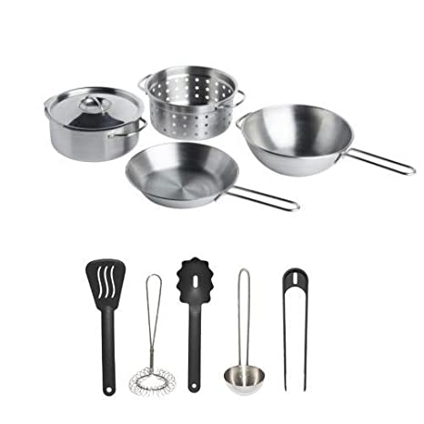 Amazon.com: Ikea Duktig Childrens Pretend Play Cooking Kit Children ...