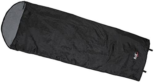 MFH – Saco de dormir extra light momia saco de dormir 210 x 75 x 60 cm saco de vivac camping Varios Colores, color negro, tamaño talla única