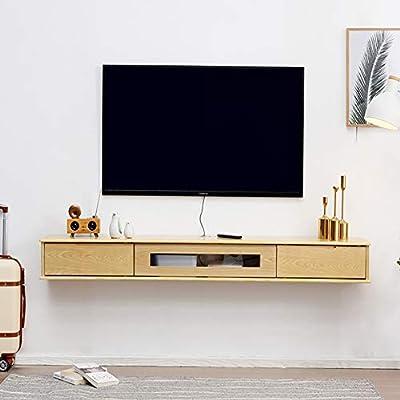 SXFYZCY Mueble de TV suspendido Mueble de TV montado en la Pared ...
