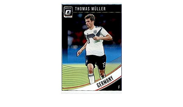 Amazon.com: 2018-19 Donruss Optic Parallel #138 Thomas Muller Germany Official Panini Soccer 2018-2019 Futbol Trading Card: Collectibles & Fine Art