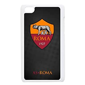 As Roma Logo iPod Touch 4 Case White Exquisite designs Phone Case KMJ5J654