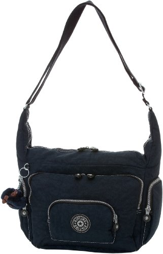 Europa Kipling Women's Blue Nylon True Bag Body Cross Tote Body Cross 4Hww6Sq