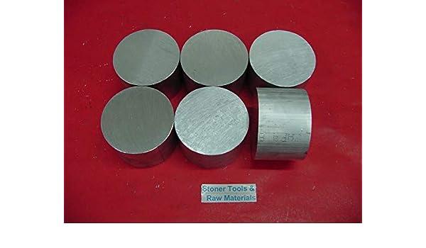 "6 Pieces 2-3//8/"" ALUMINUM 6061 ROUND ROD BAR 1-3//4/"" long Solid Lathe Stock 2.375/"""