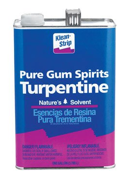 TURPENTINE GL by KLEAN-STRIP MfrPartNo GGT69 by WM BARR