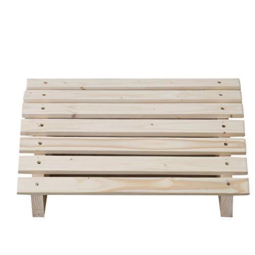[해외]인체 공학적 발판 아래 책상 원목 발 받침대 발판 통증 완화 피아노 페달 벤치 릴리프 홈 사무실 화장실-a S / Ergonomic Footrest Under Desk Solid Wood Footrest Footstool Pain Relief Piano Pedal Bench Relief with Home Office Toilet -a S