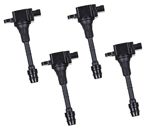 Set of 4 Ignition Coils for 2002-2006 Sentra Nissan 1.8L L4 fits UF351 22448-6N015 22448-6N011 22433-6N015 C1397